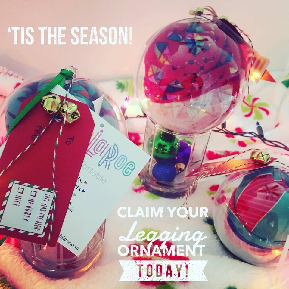 Superior What A Cute Alternative To A Stocking Stuffer  Hang It On The Tree For A  Decorative Surprise! Large, Clear Ornament Containing A Pair Of Leggings  And A ...