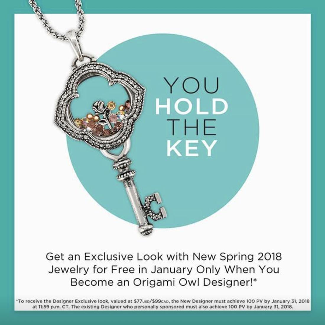 Origami owls spring 2018 collection direct sales member article they started with the january join exclusive which is amazing but thats besides the point it featured the new spring key locket and blush stardust jeuxipadfo Images