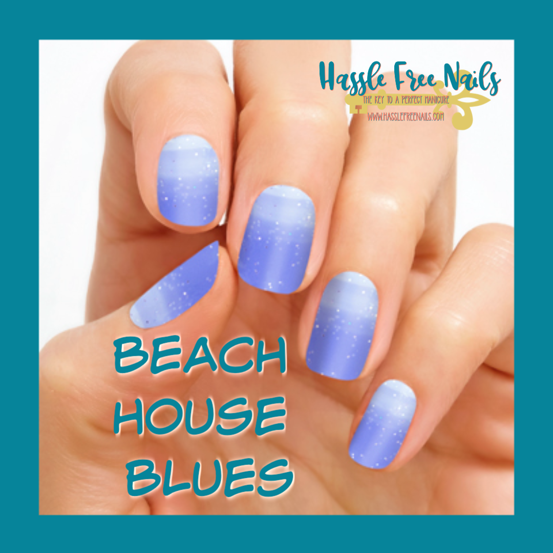 beach house blues, shop color street, join color street, buy color street, color street summer, summer nails, hassle free nails