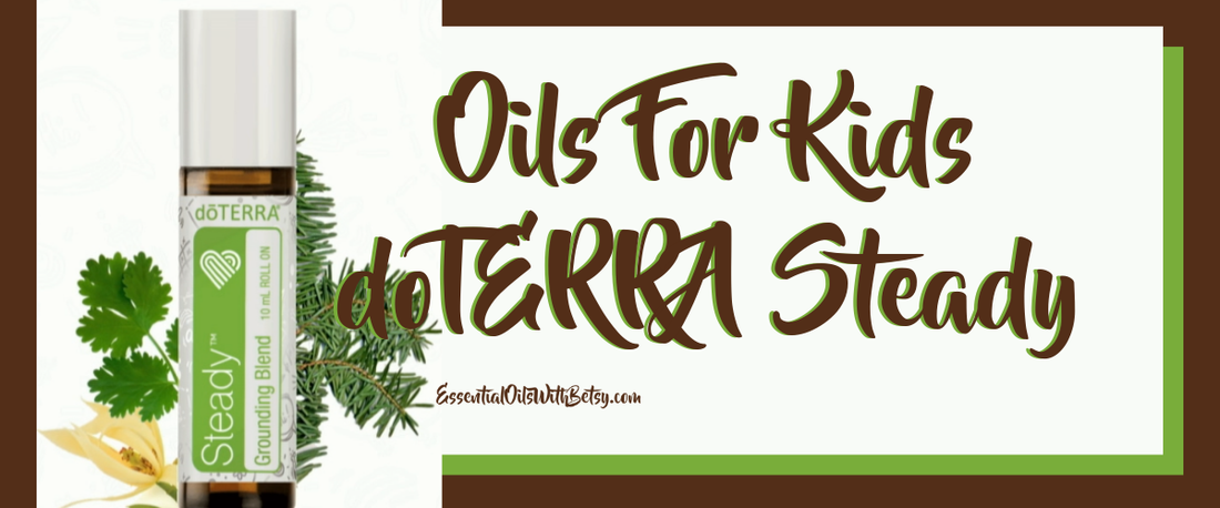 Doterra Kids Steady Grounding Blend Direct Sales And Home Based