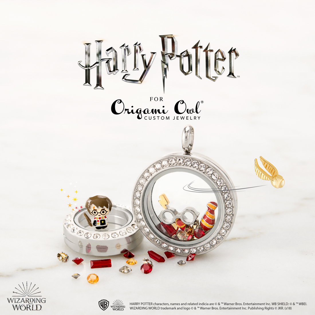 Introducing The Harry Potter For Origami Owl It S Magical