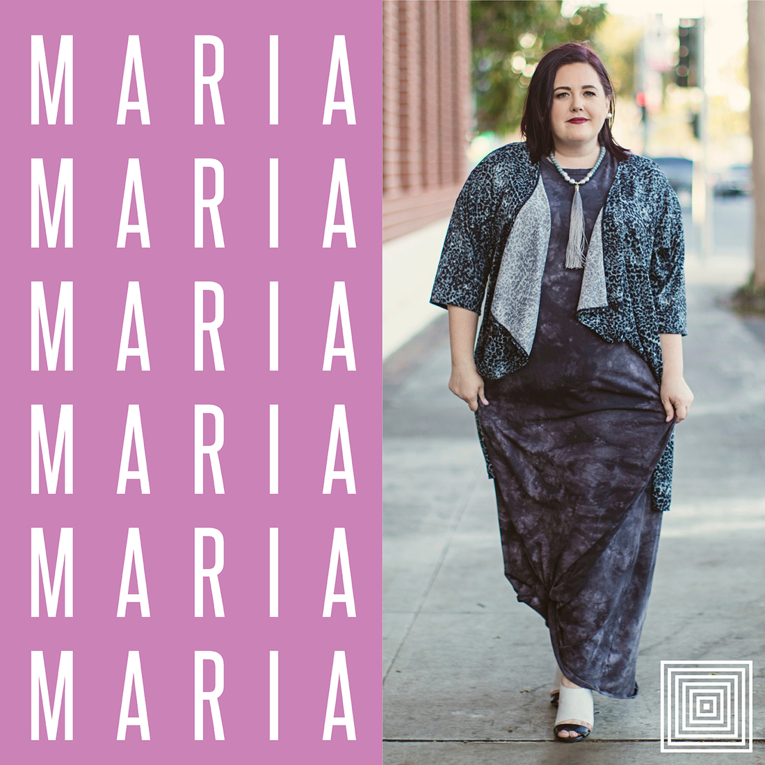 bce221b1921 We are so excited to introduce the LuLaRoe Maria Dress! One of the  questions we often get is about the LuLaRoe Maria Sizing Chart and how the  dress fits!