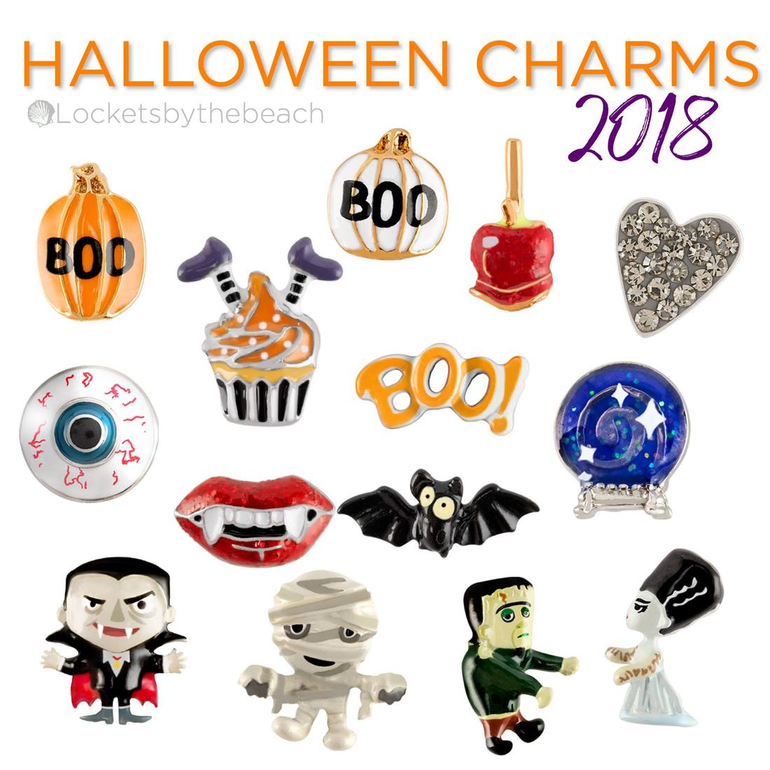 Origami Owl Halloween Collection 2018 Its Here Direct Sales