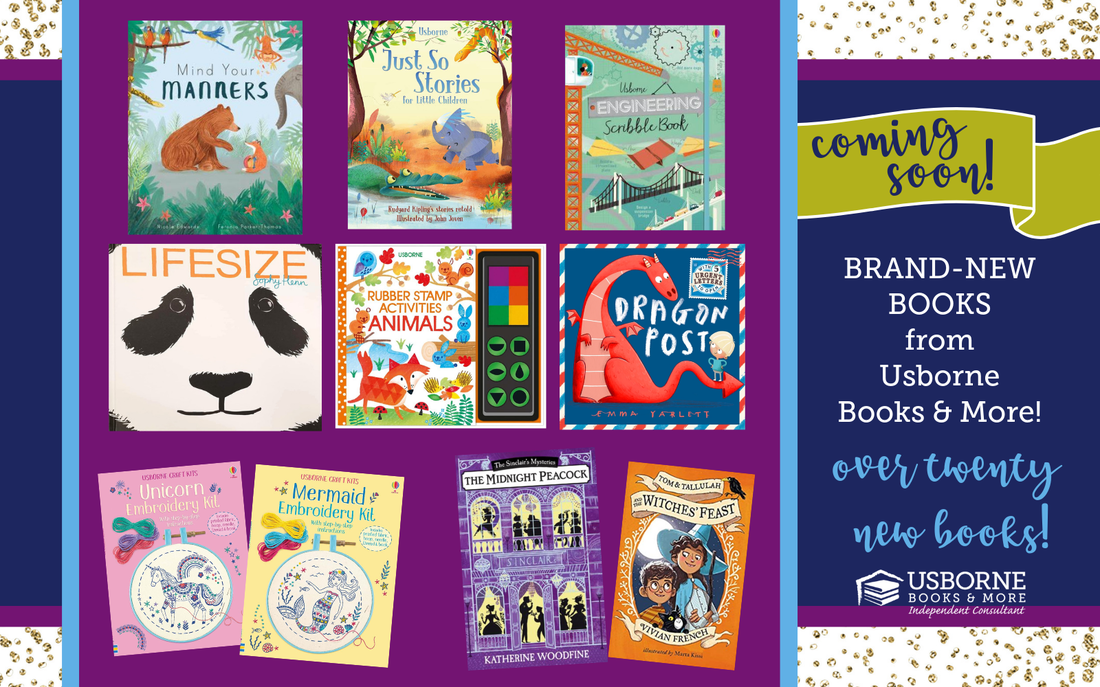Usborne Books & More Releases New Books - Coming October 2018