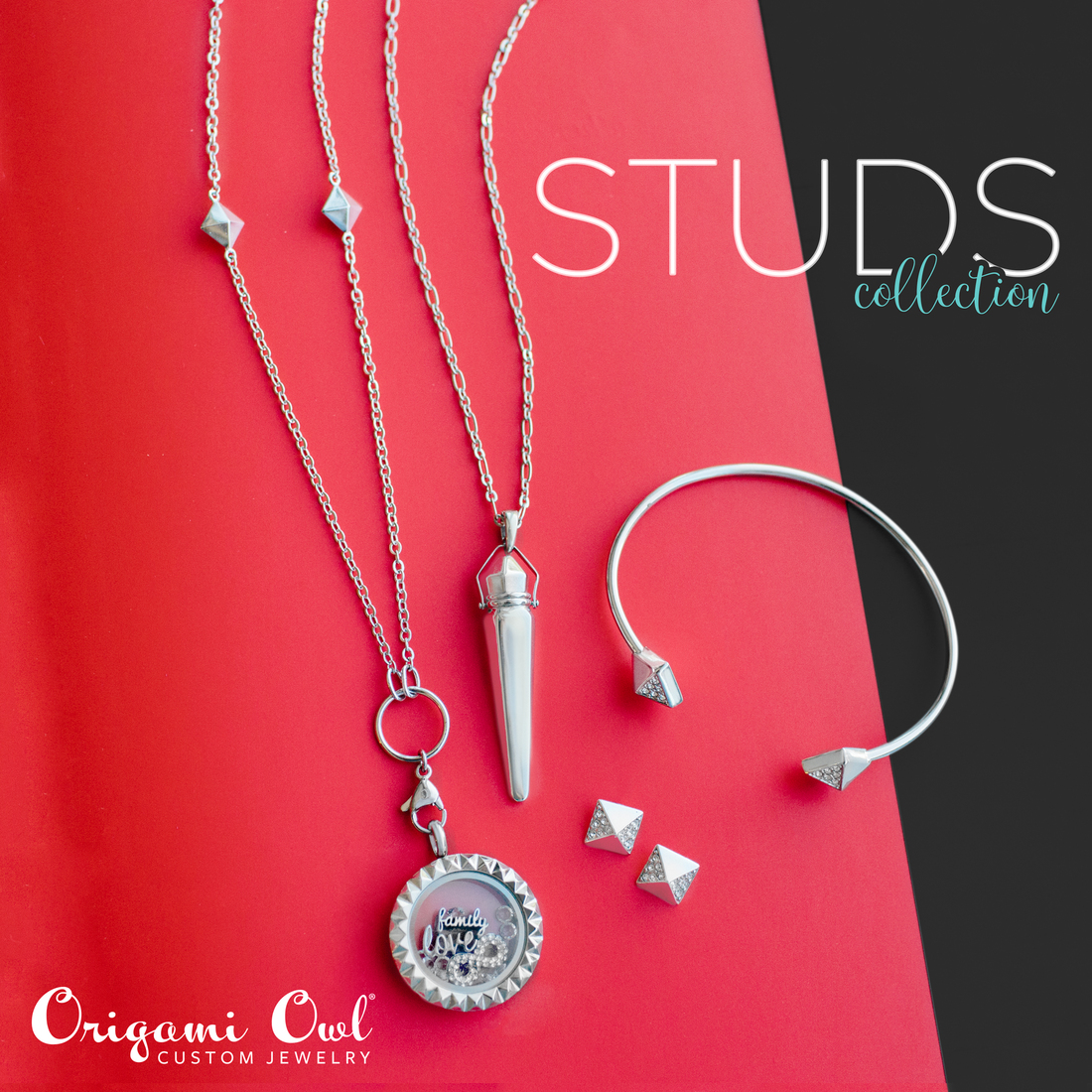 Origami owl special edition always with you studs collection origami owl in memory special edition stud collection always with you jeuxipadfo Images