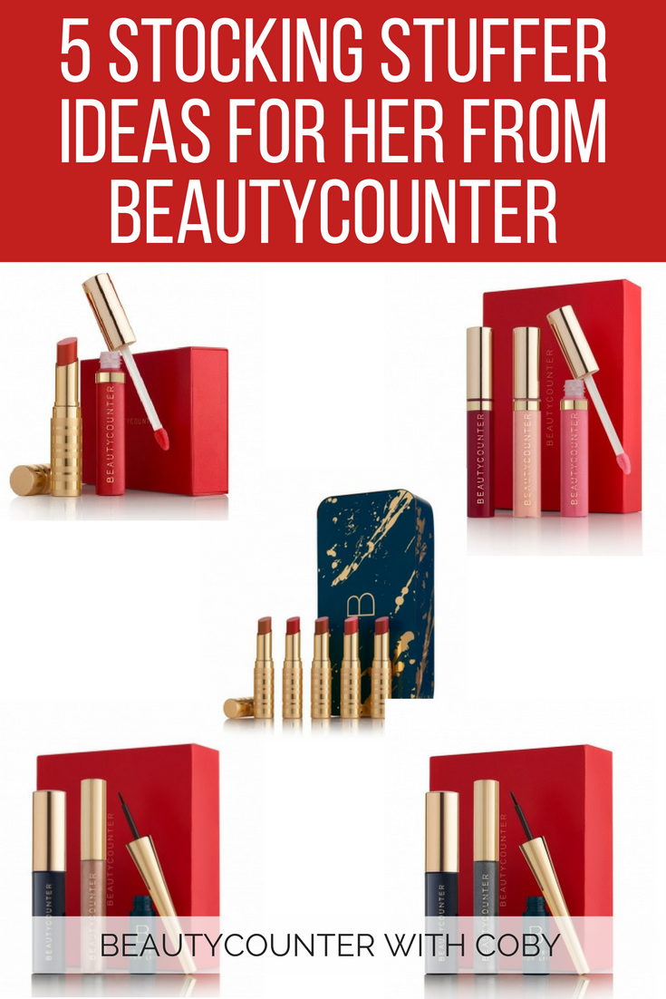5 Stocking Stuffer Ideas For Her From Beautycounter