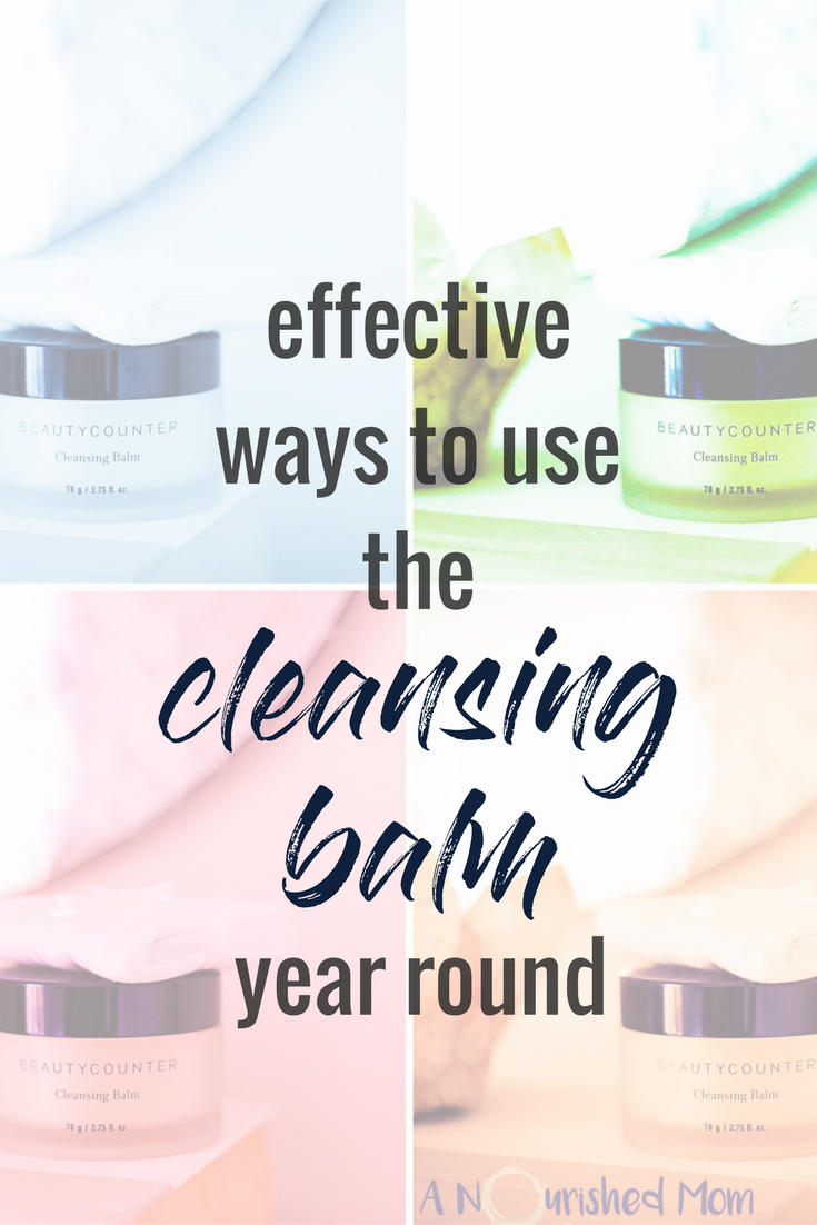 uses for cleansing balm