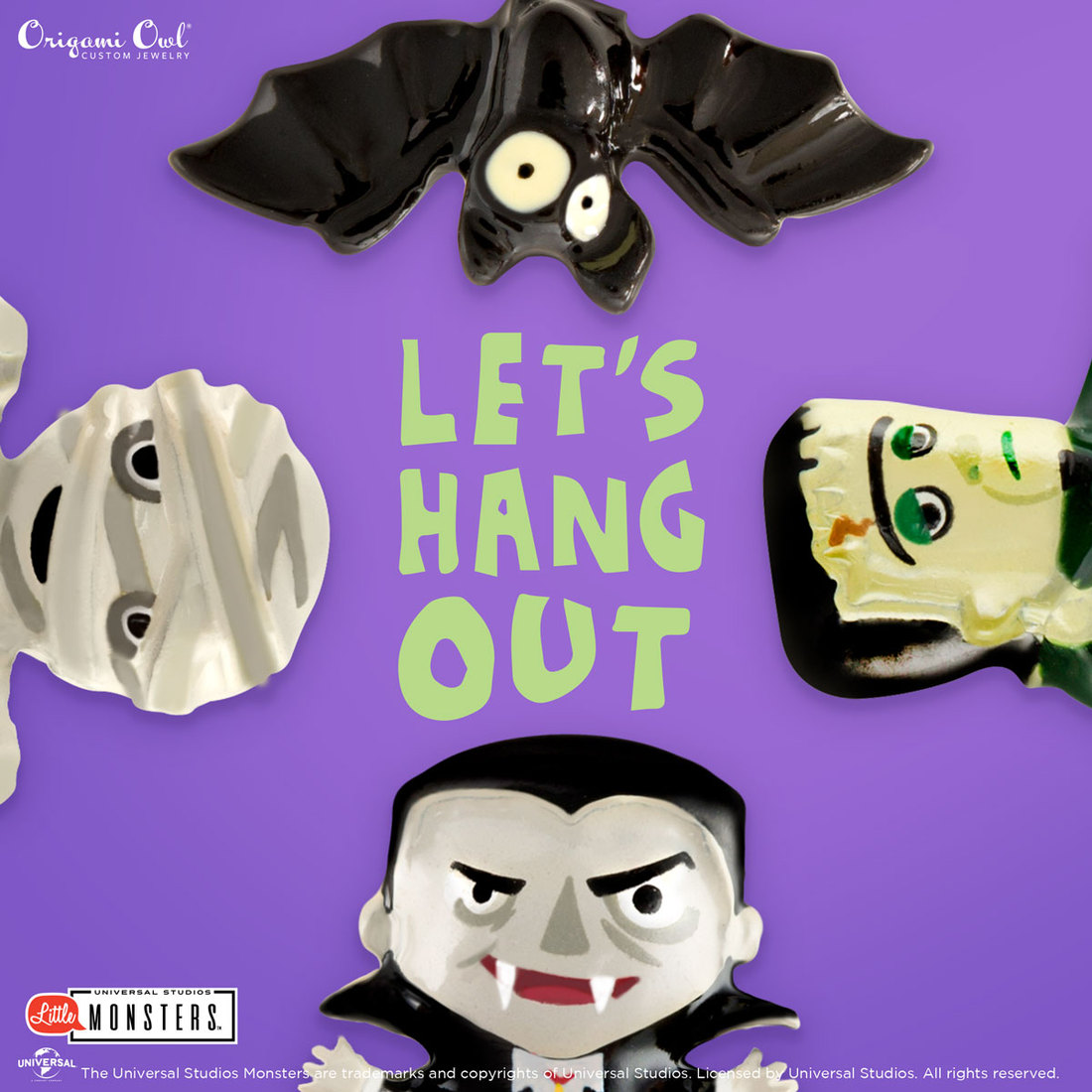 Origami Owl Halloween 2018 collection