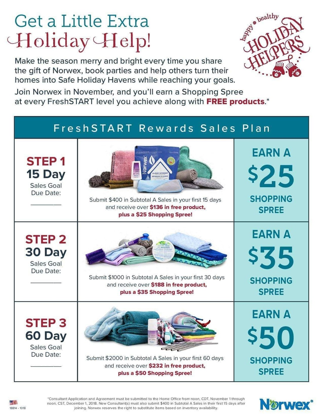 Monthly Specials For Norwex This November Direct Sales