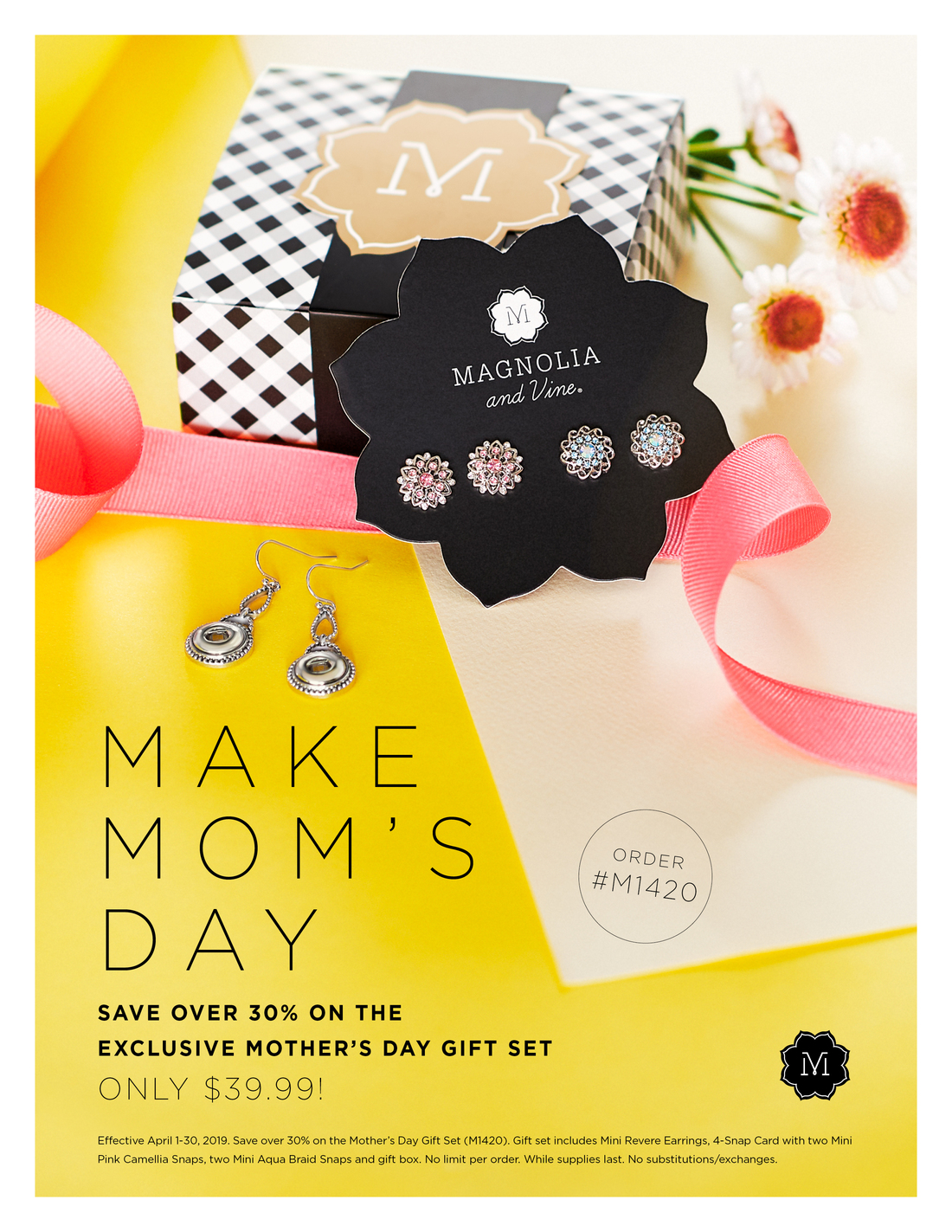 April 2019- Magnolia and Vine Monthly Specials - Direct Sales and