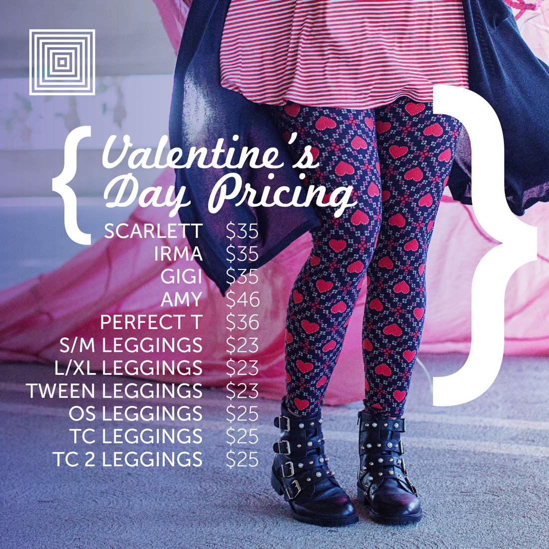 a30e6d52b5a7c1 LuLaRoe Valentine's Day Capsule Launch 2018 - Direct Sales and Home ...