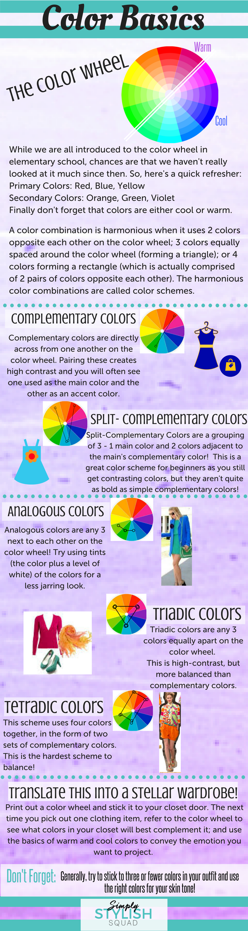 Color Basics all about color theory - direct sales member articlekate stotish