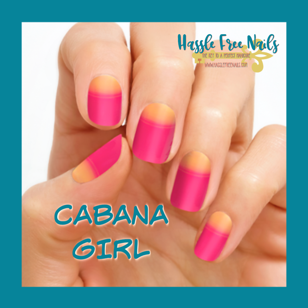 Cabana girl, shop color street, buy color street, color street summer nails, join color street, hassle free nails