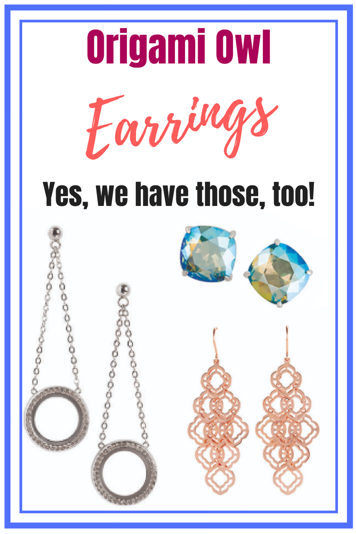 Origami Owl Earrings Trend Alert Direct Sales And Home Based