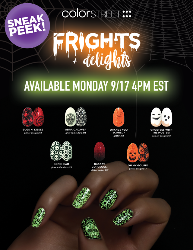 Color Street Halloween 2018 Collection - Direct Sales and Home Based ...