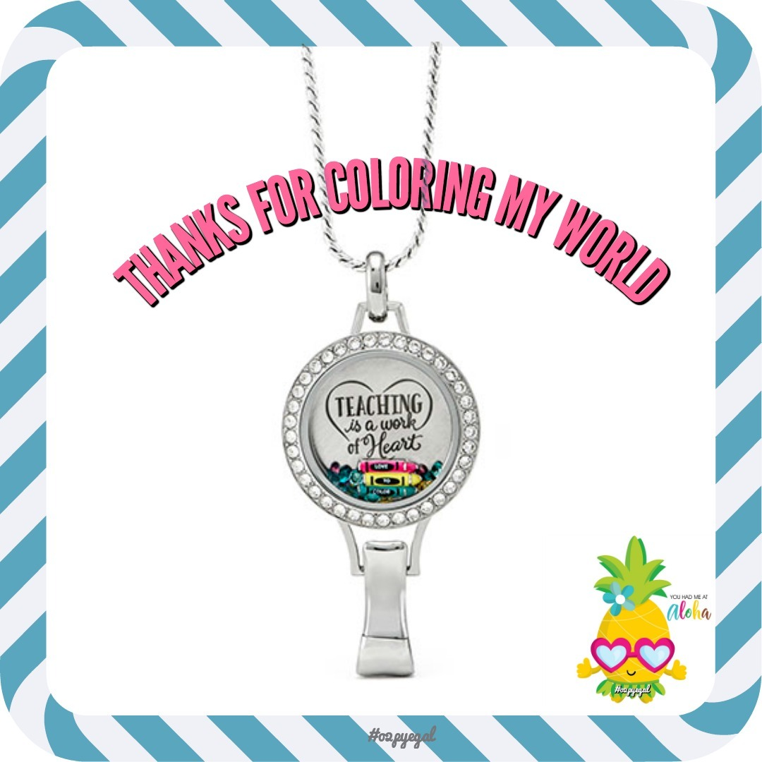 Holiday Gift Ideas for Teachers from Origami Owl - Direct ... - photo#13