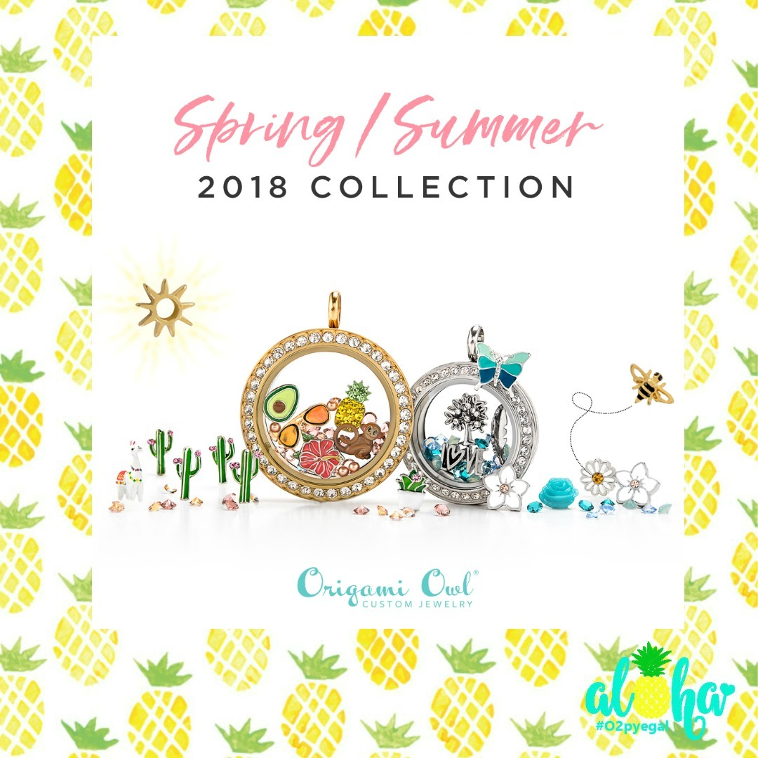 Origami Owl Necklace Charms