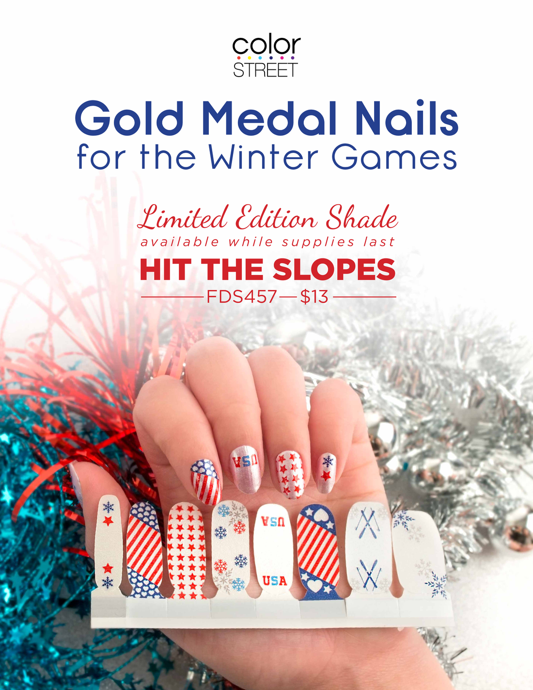 Color Street Releases Hit the Slopes Nails - Direct Sales and Home ...