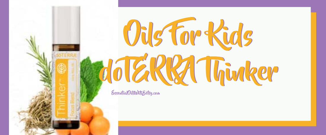 Doterra Kids Thinker Focus Blend Direct Sales And Home Based