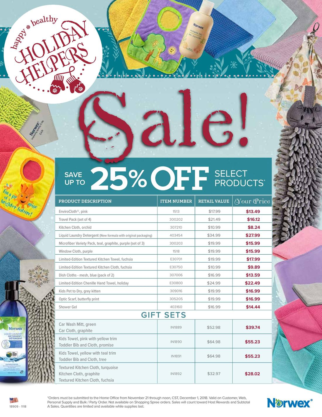 Norwex Black Friday Deals Direct Sales Party Plan And