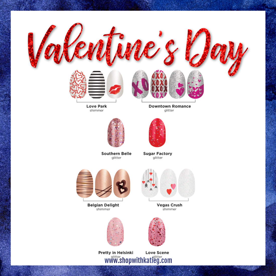 Sneak Peek Color Street Valentine S Day 2019 Catalog Direct Sales