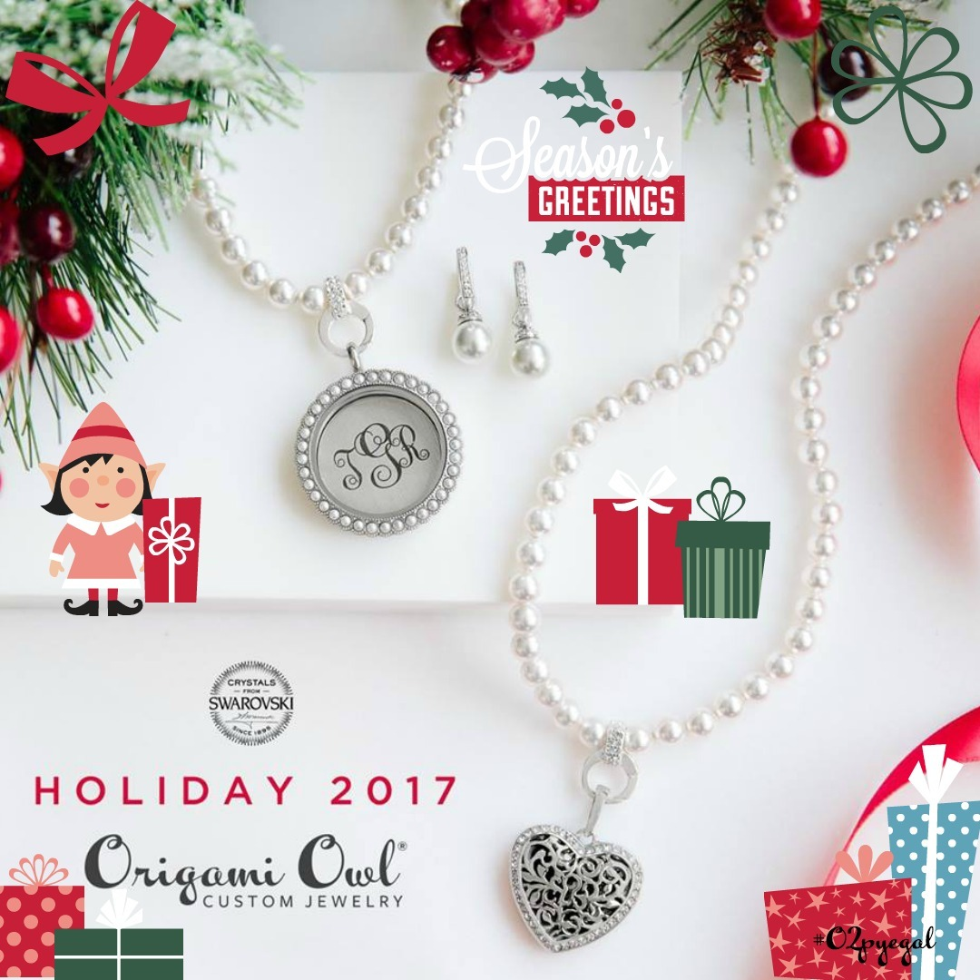 Holiday 2017 collection reveal day 3 origami owl top gifts the large living locket comes with the retractable badge reel fill it with meaningful charms that shell wear everyday to tell her story jeuxipadfo Gallery