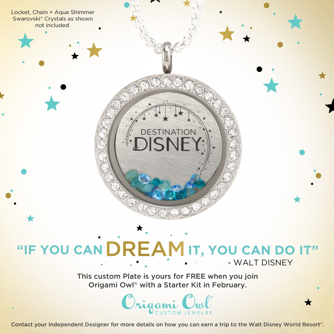 Origami owl is going to disney and you can too direct sales join origami owl in disney world jeuxipadfo Image collections