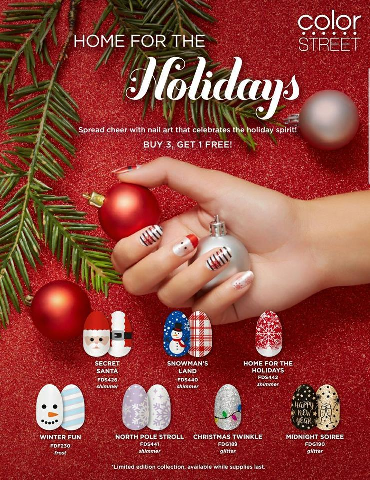 Magical Holiday Nails with Color Street - Direct Sales Member ...