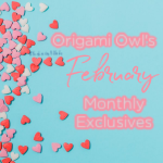 Origami Owl February Monthly Exclusives