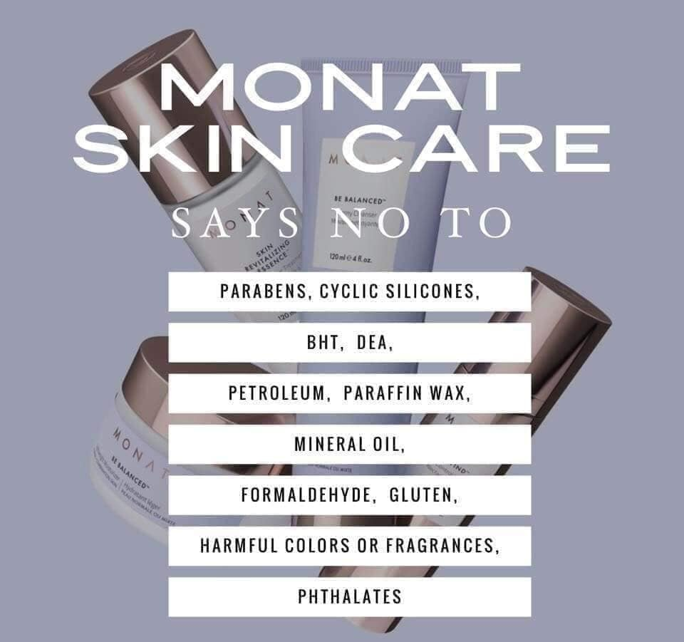 Monat Be Balanced 4 Step Skincare Routine Direct Sales Party Plan And Network Marketing Companies Member Article By Faith Sears