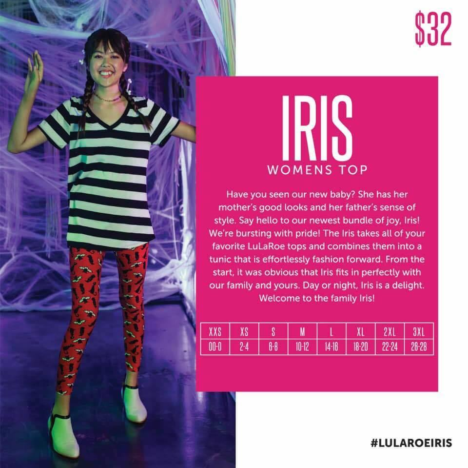 Lularoe Fall 2019 New Release Iris Tunic Top Direct Sales Party Plan And Network Marketing