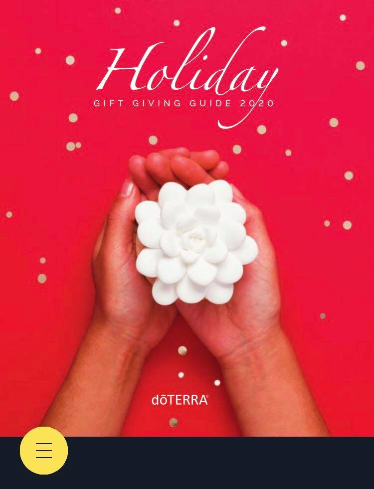 Doterra 2020 Christmas Catalog doTERRA Holiday Gift Giving Guide 2020   Direct Sales, Party Plan