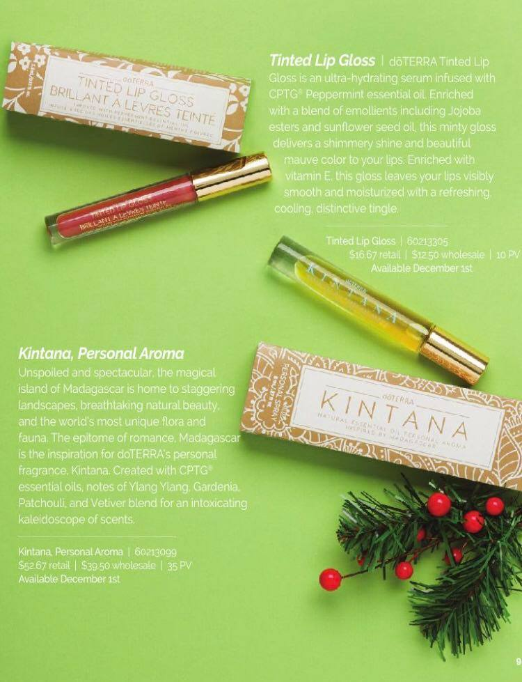 2020 Doterra Christmas Gift Guide doTERRA Holiday Gift Giving Guide 2020   Direct Sales, Party Plan