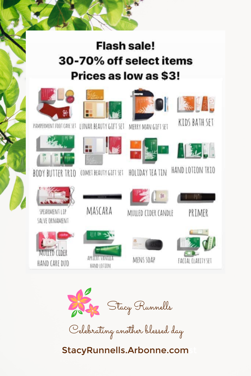 How To Shop Arbonne Holiday Sale 2019 Direct Sales Party Plan And Network Marketing Companies Member Article By Stacy Runnells