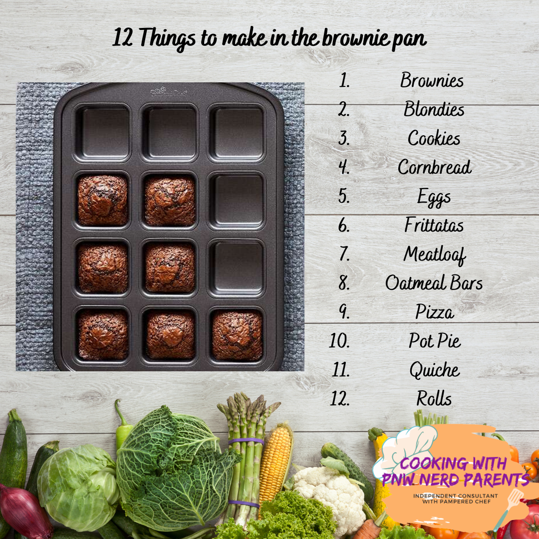 12 Uses For Pampered Chef S Brownie Pan Direct Sales Party Plan And Network Marketing Companies Member Article By Tiffany Hall Pluard