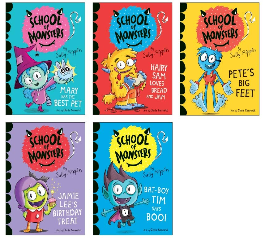 School of Monsters: Usborne Books & More New Release