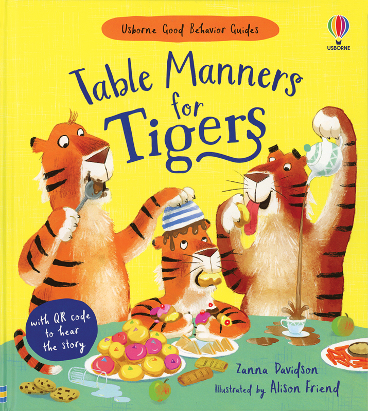 Table Manners for Tigers: Usborne Books & More New Release