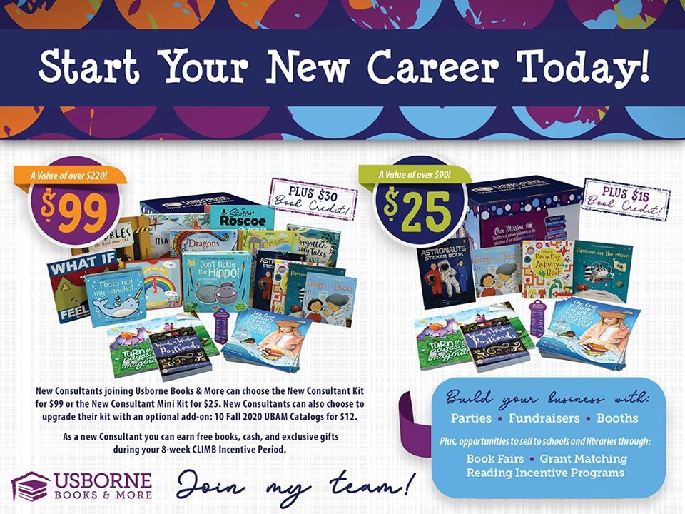 How To Become An Usborne Consultant Direct Sales Party Plan And Network Marketing Companies Member Article By Mariah Odegaard