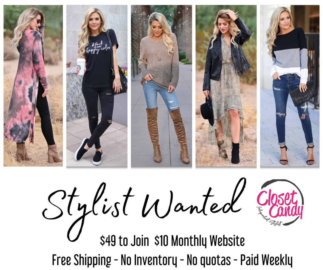 Become an Independent Stylist with Closet Candy Boutique   Direct ...