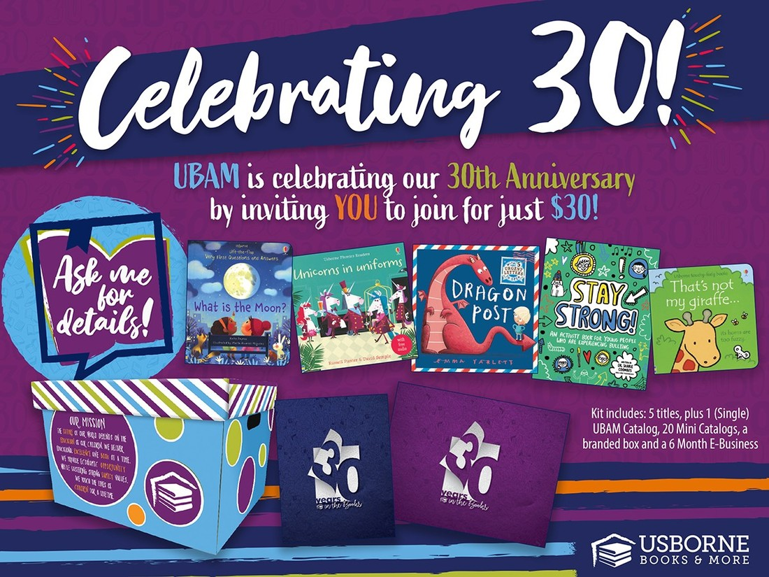 Join My Usborne Books & More Team for Just $30! - Direct Sales and