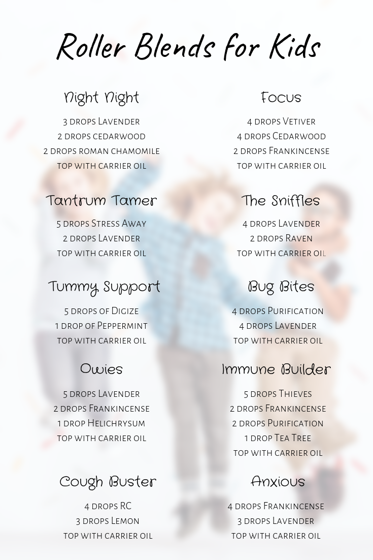 10 Amazing Roller Recipes For Kids Direct Sales Party Plan And Network Marketing Companies Member Article By Ashley Hall