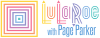 LuLaRoe Page Parker Company Logo by Christy and Lindsay Page Parker in Fullerton CA