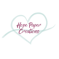 Stampin' Up!/Hope Paper Creations Company Logo by Britney Vanderlaan in Bessemer City NC