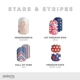 Jamberry Exclusive Independence Day holiday Wraps Available 30 May - 1 August ONLY!!! (While stocks last)