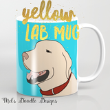 Dog Coffee Mugs by Mel's Doodle Designs