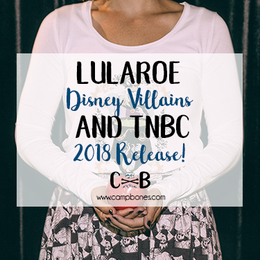 97befb60b2dd3b 2018 LuLaRoe Collection for Disney Villains and Nightmare Before Christmas  Launched!