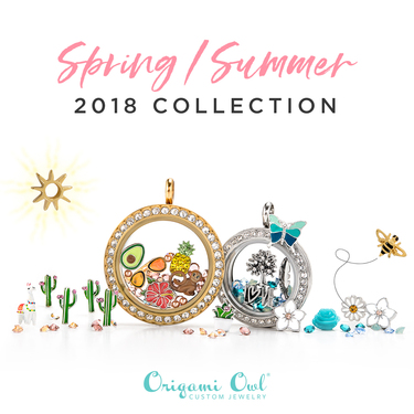All The New Spring Origami Owl Charms Direct Sales And Home Based