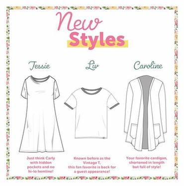 5ce85c204e7dde LuLaRoe Releases First New Styles of 2019 - Caroline, Liv and Jessie ...
