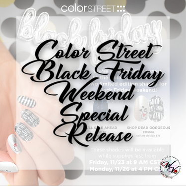 Color Street Black Friday Release Direct Sales Party Plan And Network Marketing Companies Member Article By Wanda Kissel