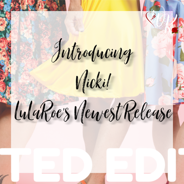 The NEW Nicki Dress LuLaRoes Newest Release